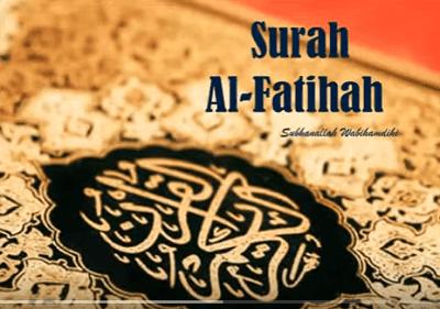 Surah Al Fatihah Arab Latin Dan Terjemahannya Peraturan