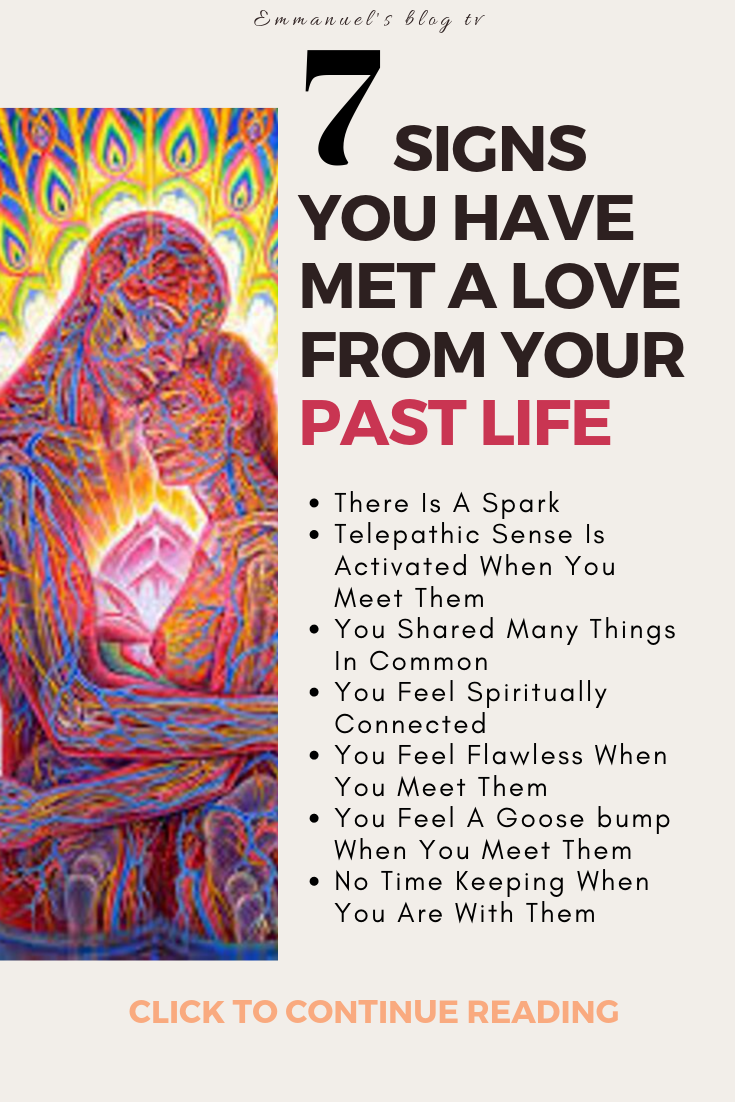 7 Signs You Have Met A Love From Your Past Life
