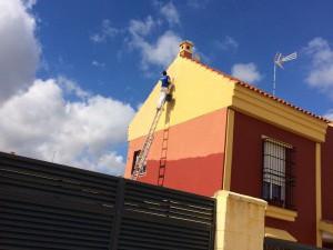 Pintura de fachadas en Sevilla