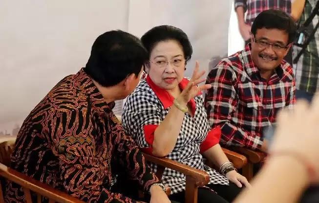 Ahok Djarot Megawati jelang debat