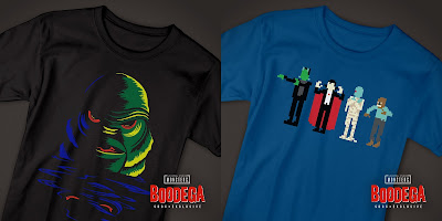 San Diego Comic-Con 2018 Exclusive Universal Monsters T-Shirt Collection at Super7