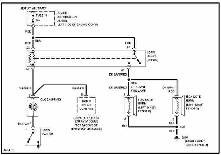 2002 Chrysler PT Cruiser Wiring Diagram  Wiring Diagram