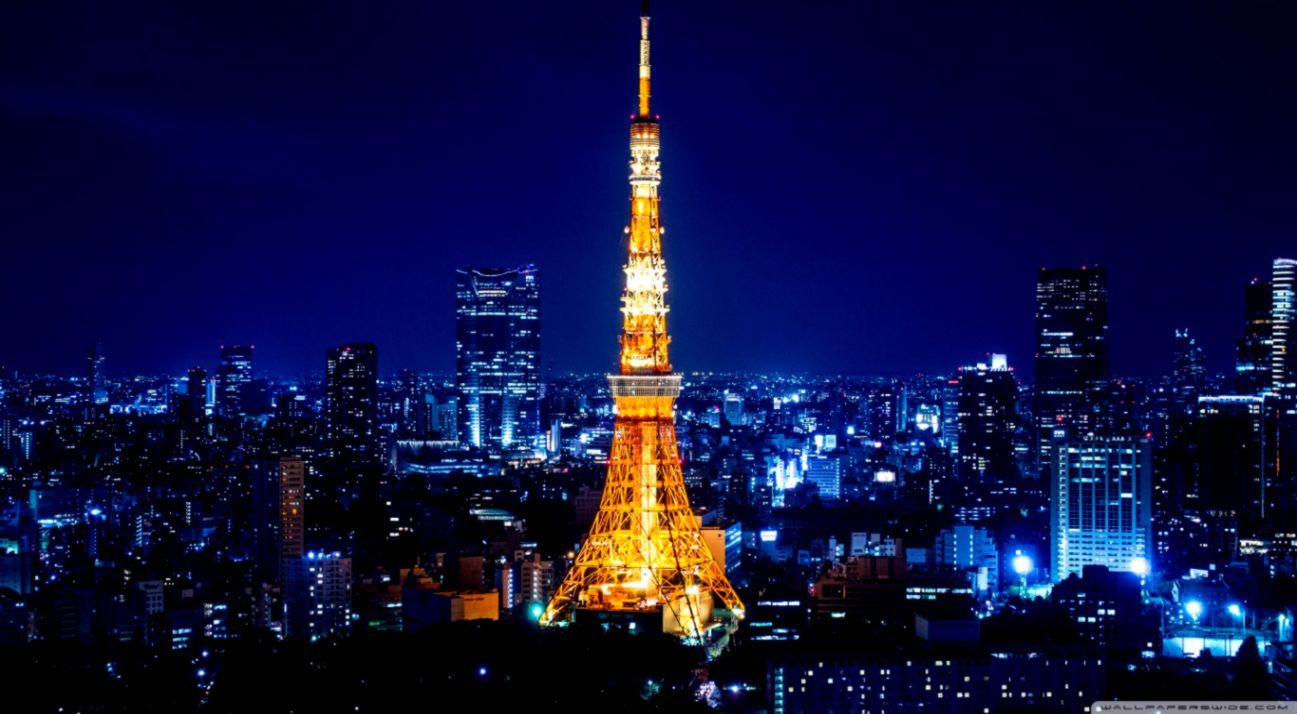 Tokyo Japan Tower Wallpaper   Viva Wallpapers