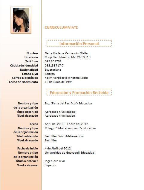 Hacer Curriculum Vitae Online Gratis En 5 Minutos Con Plantillas En Pdf