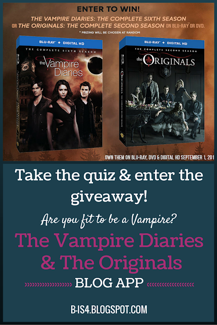 Giveaway, TVD, TV shows