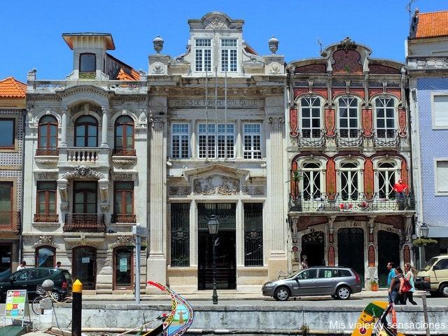 Art Nouveau modernismo en Aveiro, Portugal