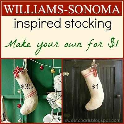 Williams Sonoma Christmas Catalog.Williams Sonoma Inspired Stocking Diy For 1 Sweet Charli