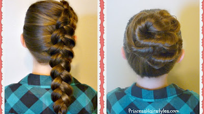 2 Easy and Quick Back To School Hairstyles