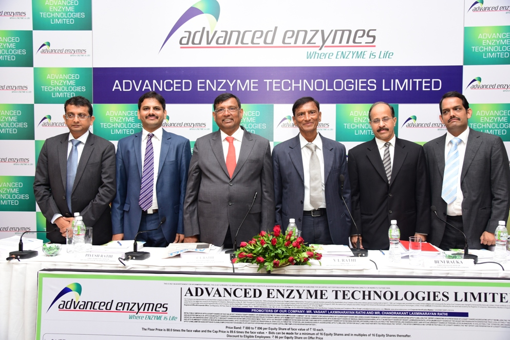 Orient Publication Advanced Enzyme Technologies Limited S Offer To Open On July 20 2016 And To Close On July 22 2016 Price Band Fixed From Rs 880 To Rs 896 Per Equity Share