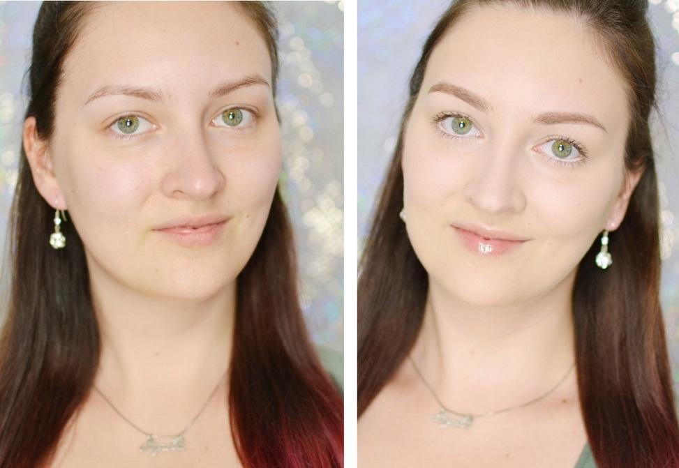 tutorial makijaż do szkoły