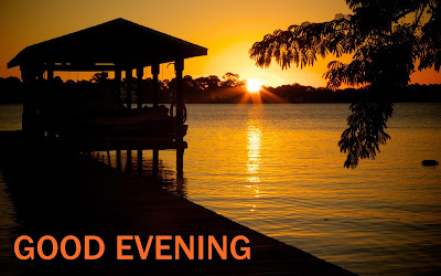 Good Evening with Sunset and Friends