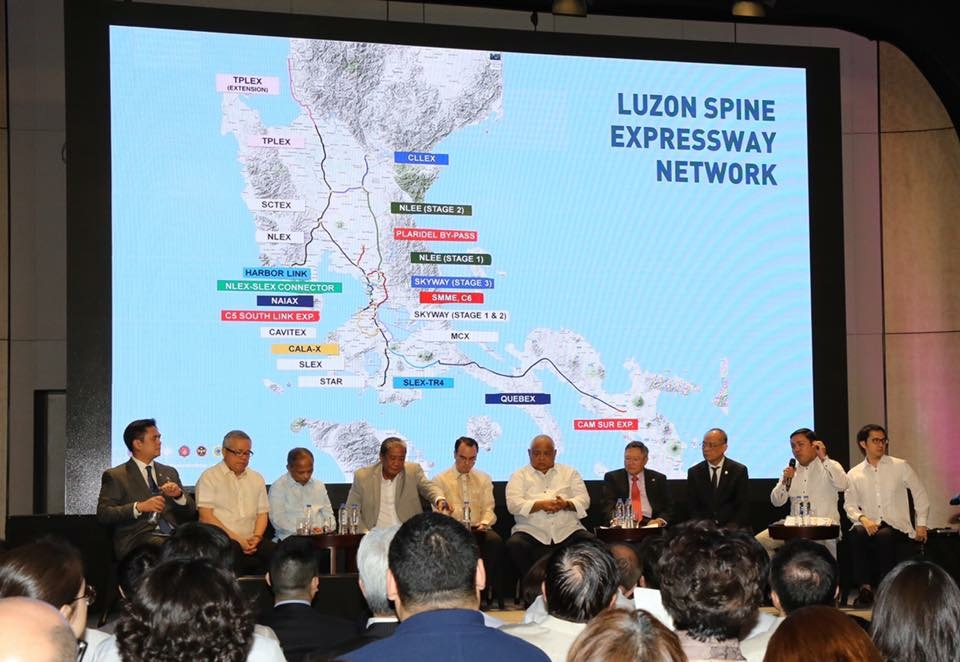 The Luzon Spine Expressway is a 1,040 km network that aims to build an additional 18 expressways with a total road length of 655 km.