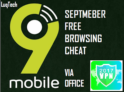 How To Download Free On UC MINI Using 9mobile Via Office VPN