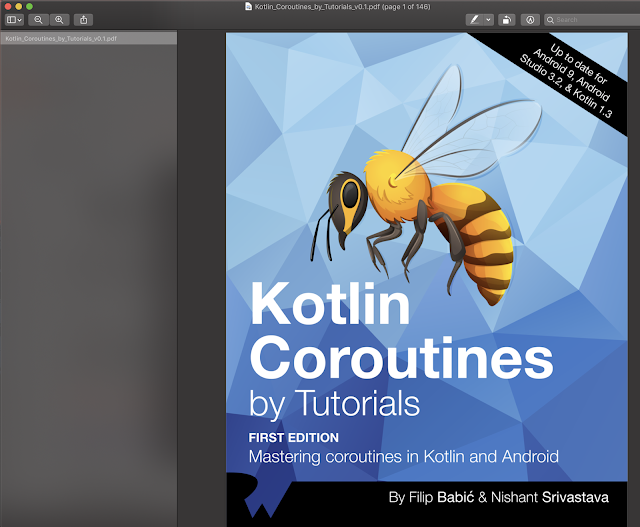 Kotlin Coroutines By Tutorials