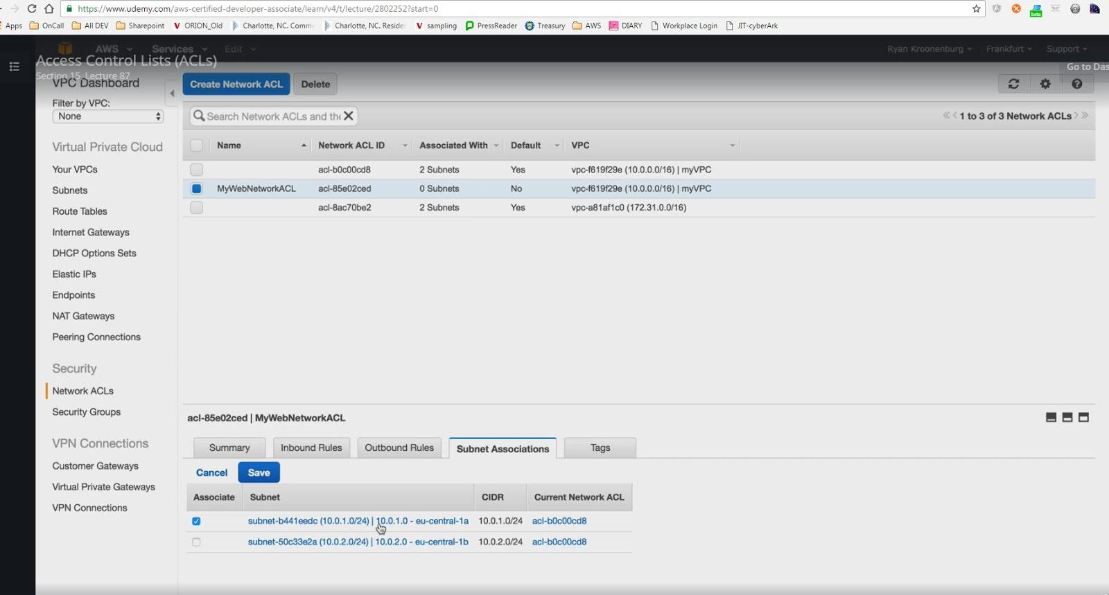 AWS Certified Developer Associate Notes - VPC | CodingAtWork