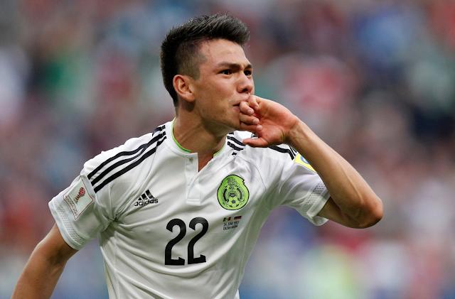 México ganó 2-1 a Rusia