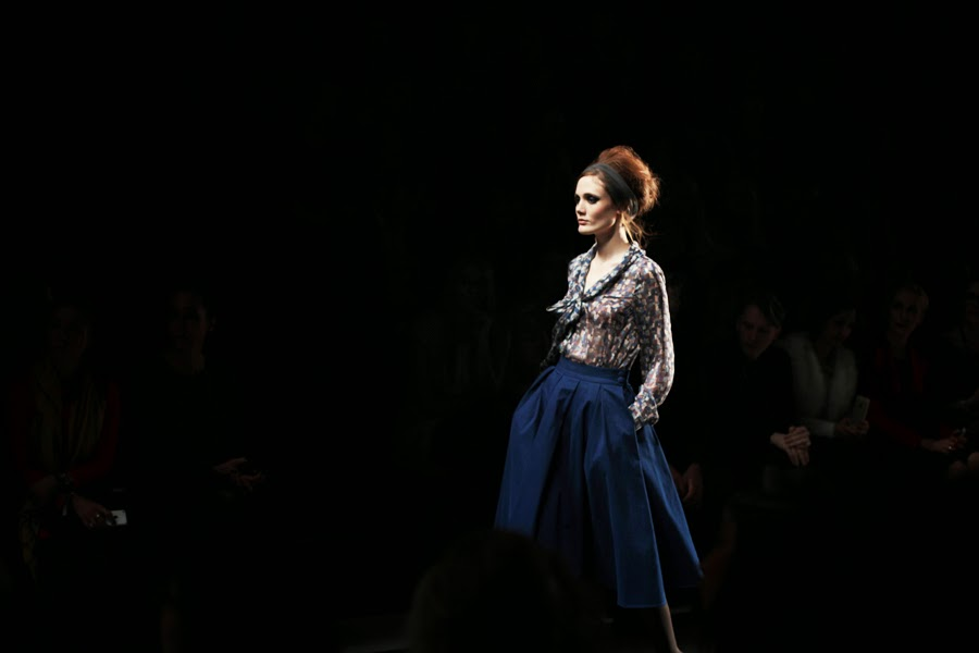 berlin fashion week lena hoschek runway show