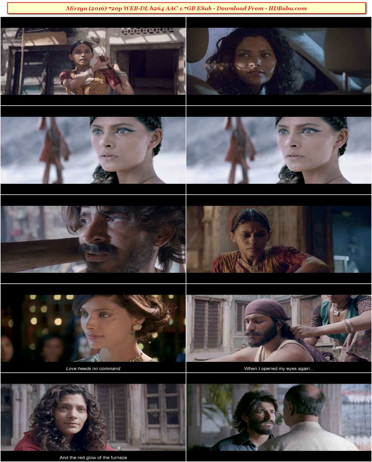 Mirzya Full Movie Download