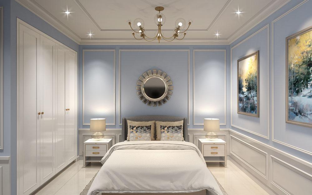 Phòng ngủ mẫu căn hộ Imperial Place Bình Tân