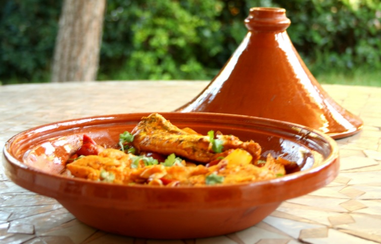 Algerian Jelbana Artichokes and Green Peas Tajine Recipe