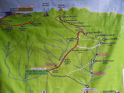 Image result for gunung ledang route