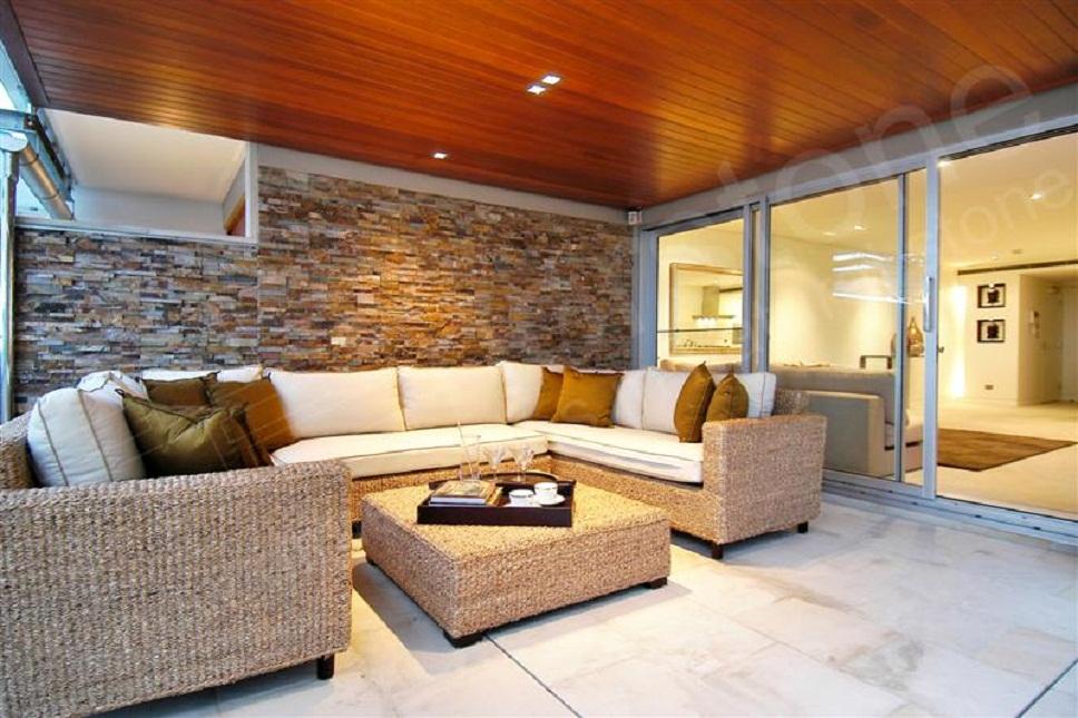 Modern Living Room Rustic Wall Decor