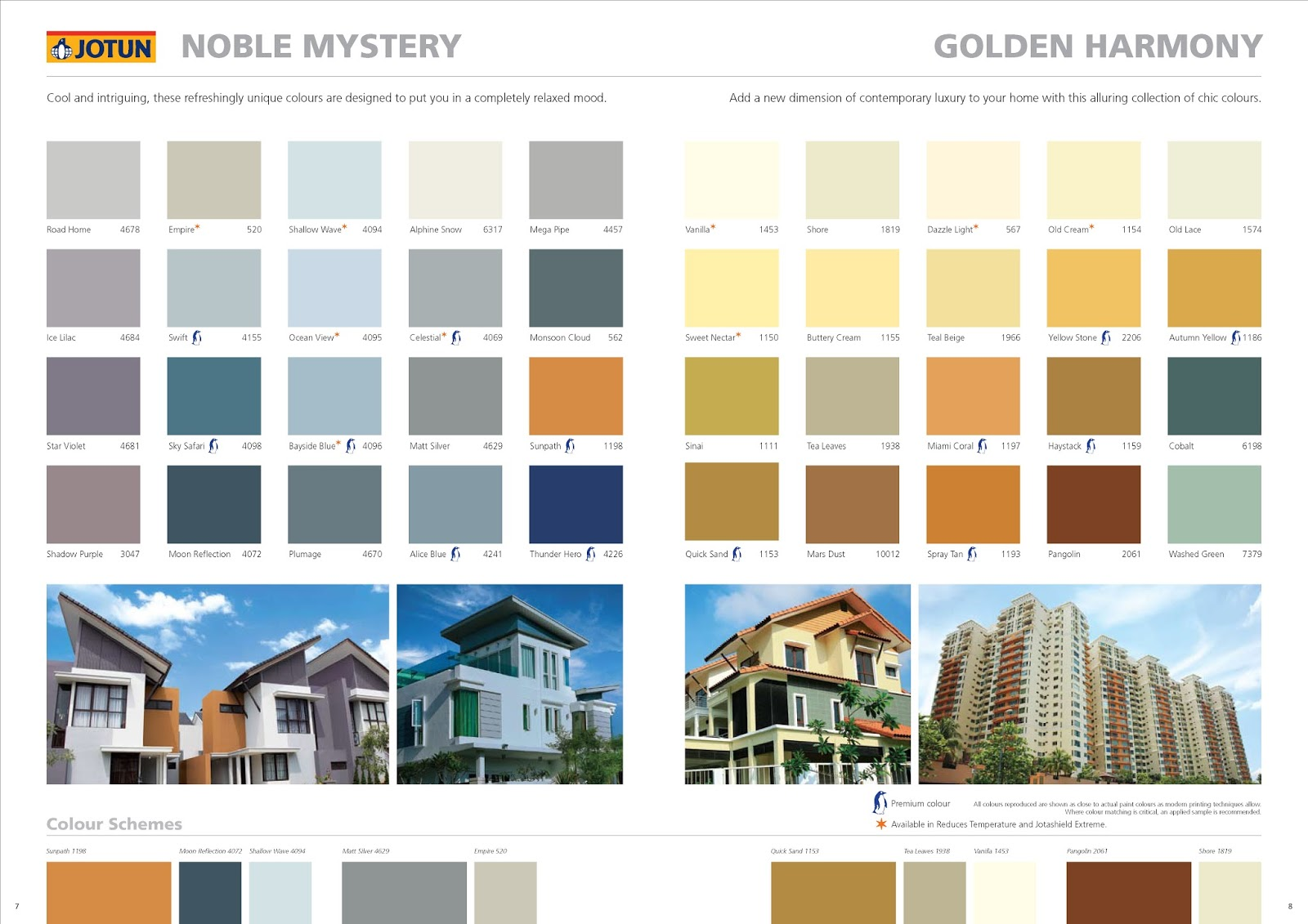 Cat Rumah Warna Gold Jotun Paint Shade Card Related Keywords Jotun Paint