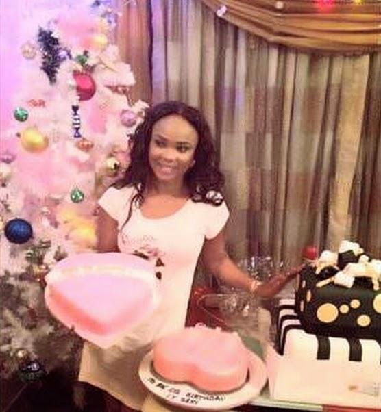 iyabo ojo birthday cake