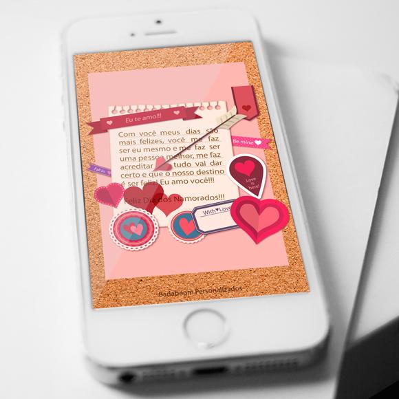 cartão, virtual, dia dos namorados, whatsapp, free, grátis