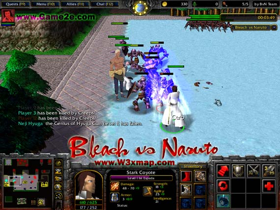 Warcraft3-best naruto map + download youtube.