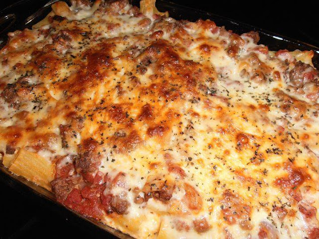 ITALIAN RIGATONI BAKE – It's Mouthwatering!
