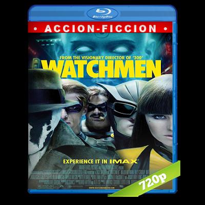 Watchmen Los Vigilantes (2009) BRRip 720p Audio Trial Latino-Castellano-Ingles 5.1