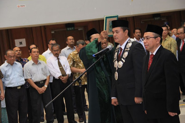 Rektor Unsyiah Lantik Dekan Fakultas Kedokteran, Maimun Syukri