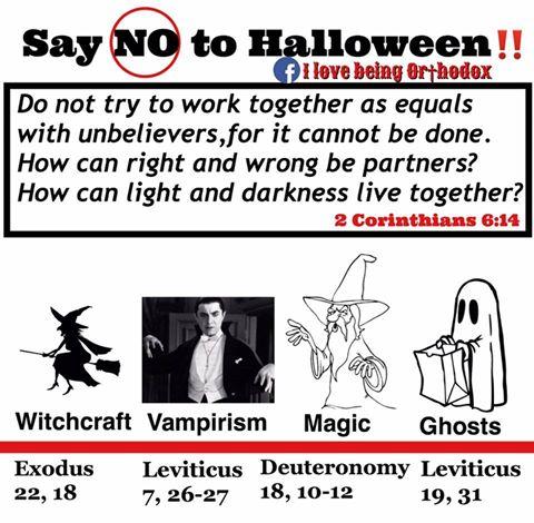 NON à Halloween !