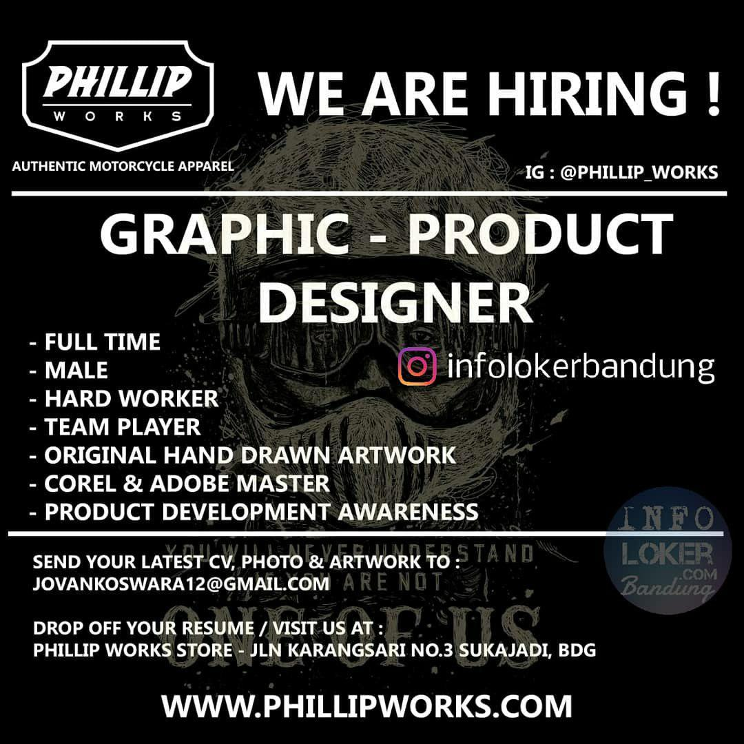 Lowongan Kerja Phillip Works Bandung Agustus 2018