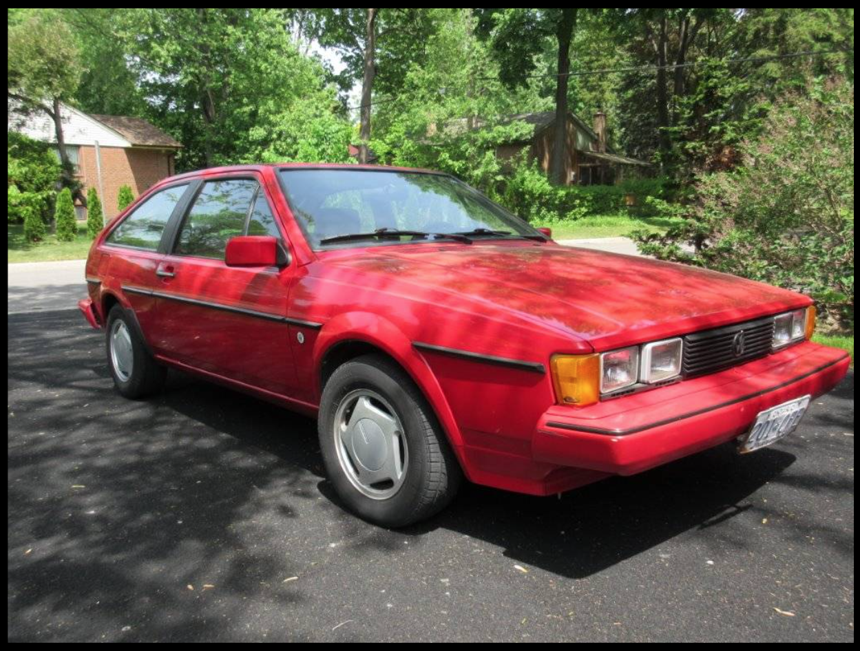 1985 VW Scirocco Wolfsburg Edition For Sale