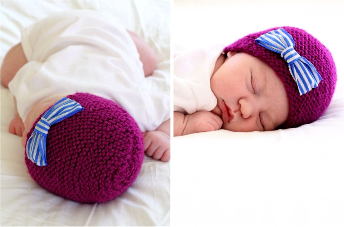 Knit Newborn Hat – MADE EVERYDAY d6339f58cac
