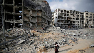 GAZA STRIP DESTRUCTION