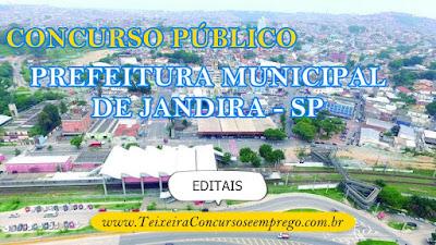 Provas Concurso Prefeitura Municipal de Jandira