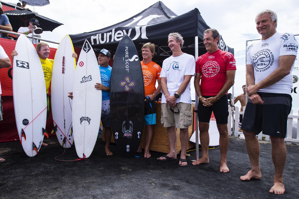 34 Legends Hurley Pro at Trestles Foto WSL Brett Skinner