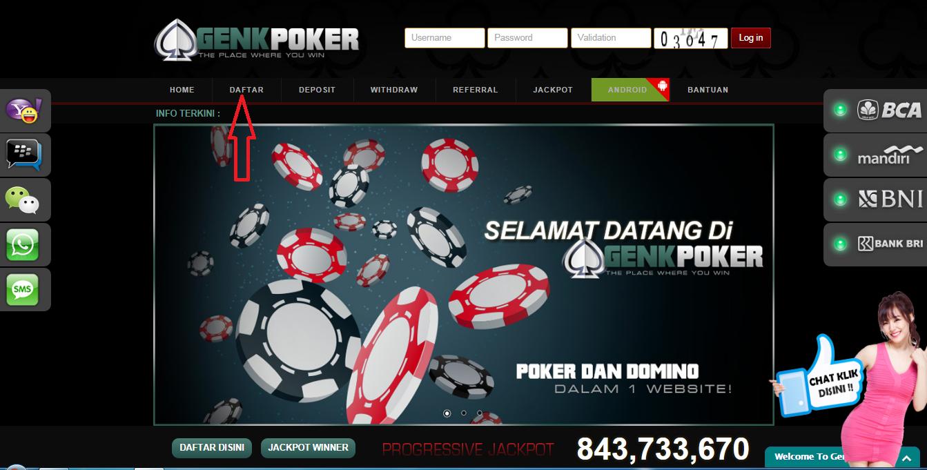 Genkpoker Agen Poker Online DominoQQ Indonesia