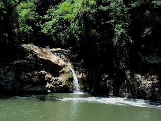 Queda Menor Junto à Cachoeira dos Calza