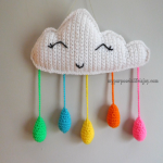 http://www.mypurposeinlifeisjoy.com/2017/04/01/crochet-easter-egg-rain-cloud-mobile/