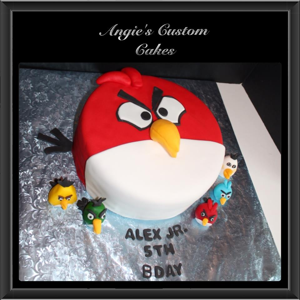 Angry Birds Cake Toppers Walmart