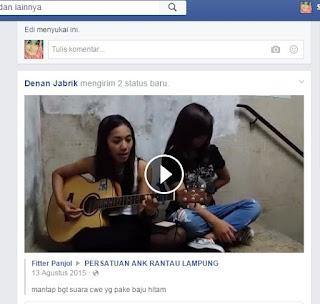 Cara Download Video di Facebook Lewat PC Mudah