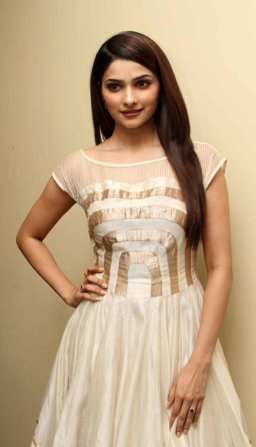 Beautiful Surat Girl Prachi Desai Long Hair Stills In White Skirt