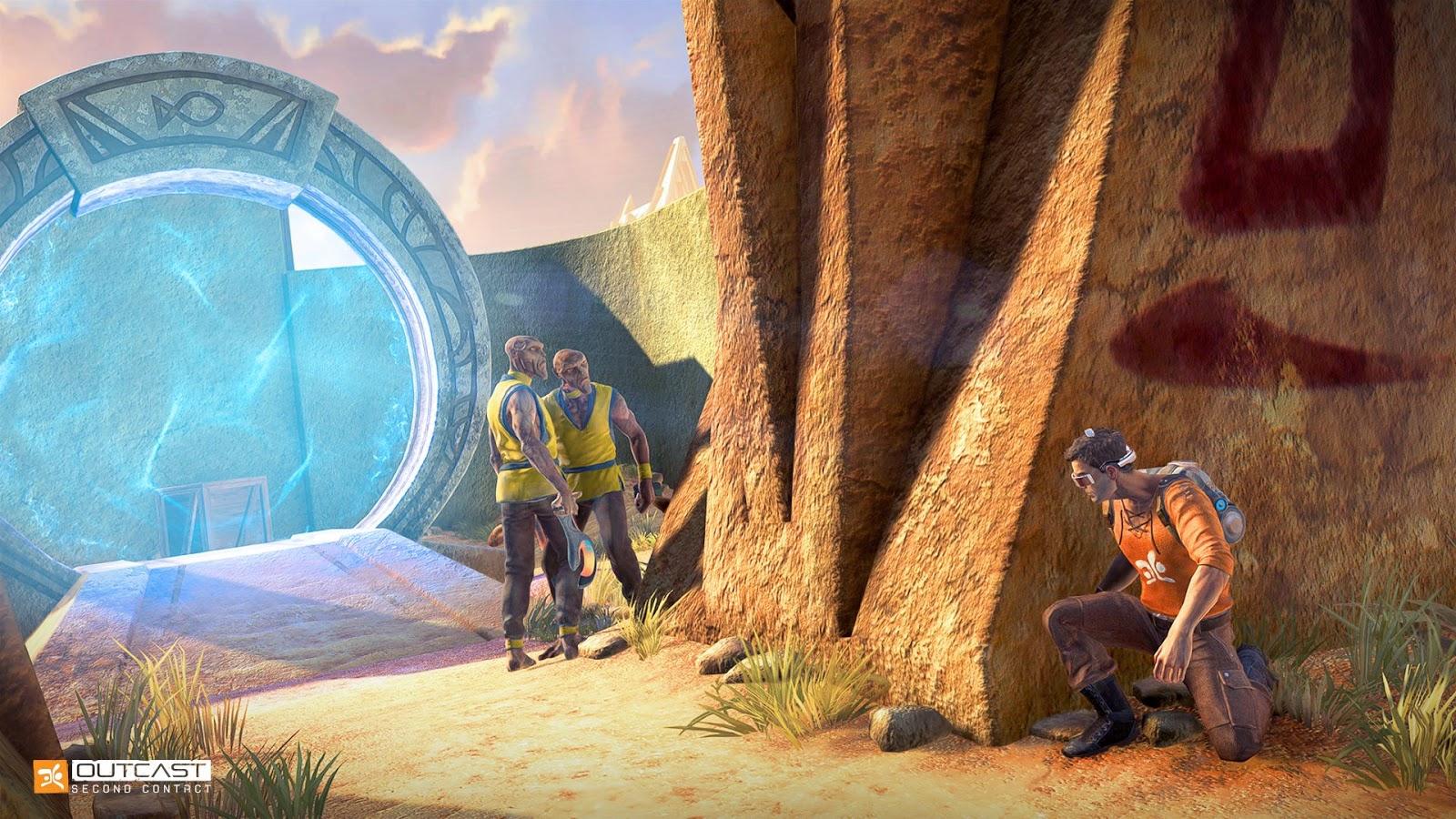 Outcast - Second Contact, Outcast Remake, Outcast, Indie Game, Sci Fi, фантастика, ремейк, независимая игра, инди-игра
