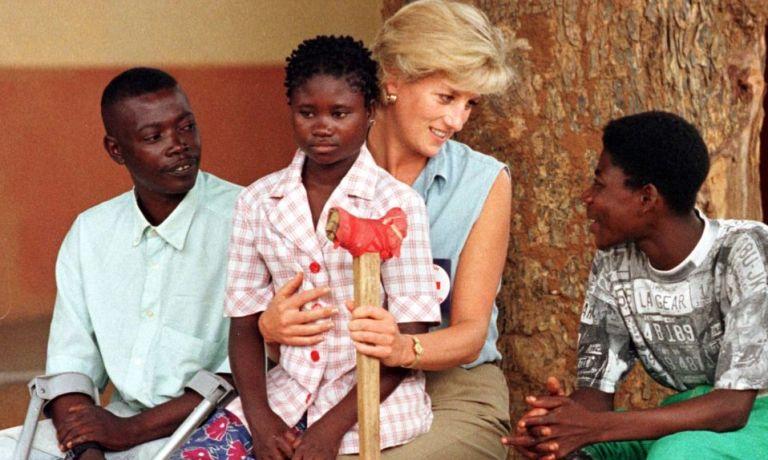 biography of princess diana people's princess with angola children