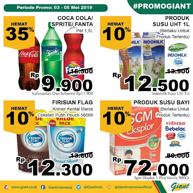 #Giant - #Promo #Katalog Weekend Periode 03 - 05 Mei 2019