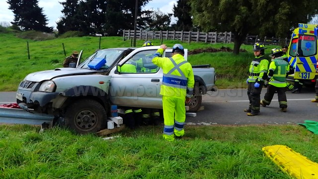 Accidente en Osorno